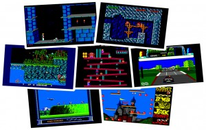 Amstrad CPC Games - Prince of Persia, Rick Dangerous, Gryzor, Donkey Kong, Chase HQ, P47 Freedom Fighter, Bomb Jack