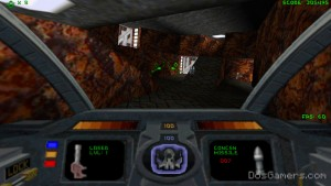 Descent 1 for Windows 10, Windows 7 and 8 in high resolution.