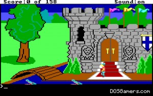 King's Quest 1 on Windows 10.