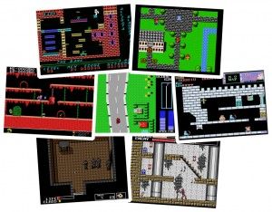 MSX Games - Blagger, Final Fantasy, Goonies, Road Fighter, The Castle, Metal Gear, Vampire Killer