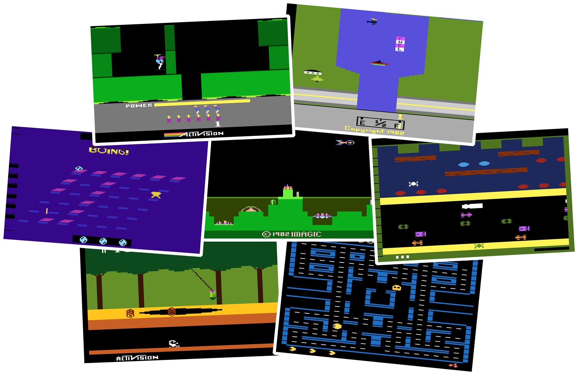 Atari 2600 games