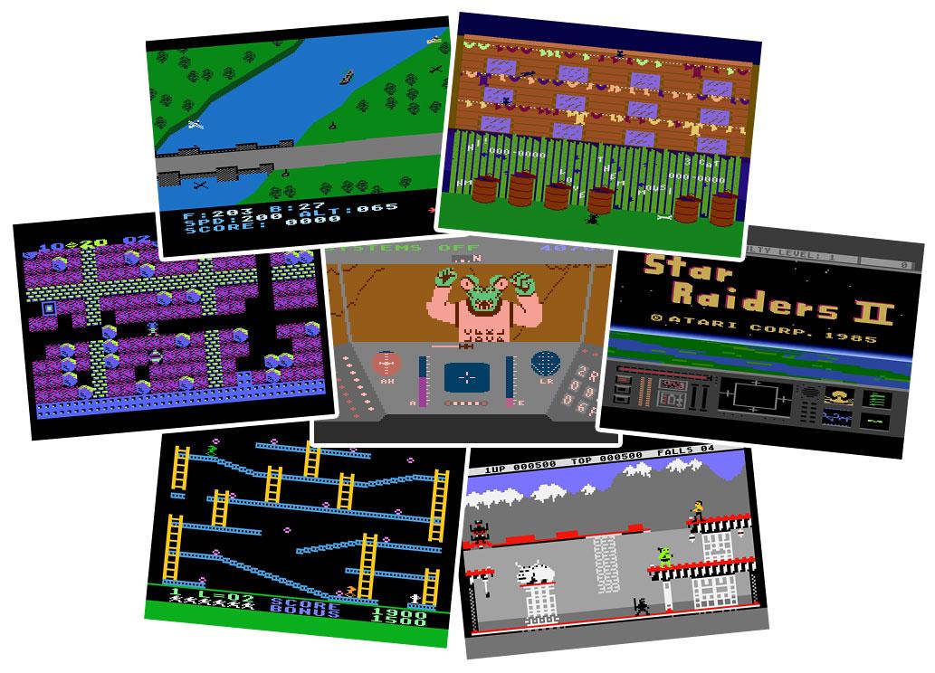 Atari 8-bit Games for Windows 10, 8 and Windows 7