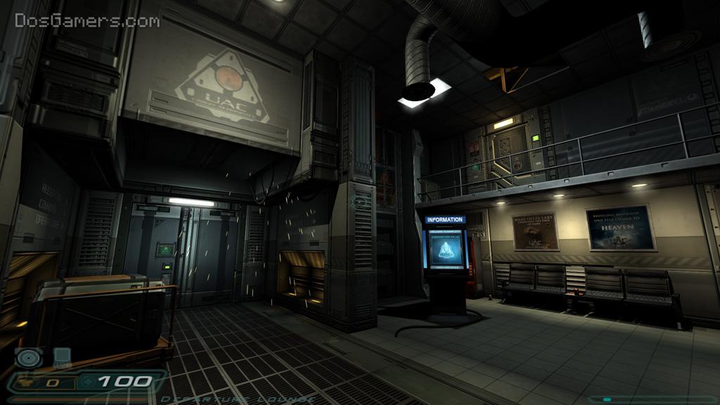 Doom 3 on Windows 8 and Windows 7 in High Resolution