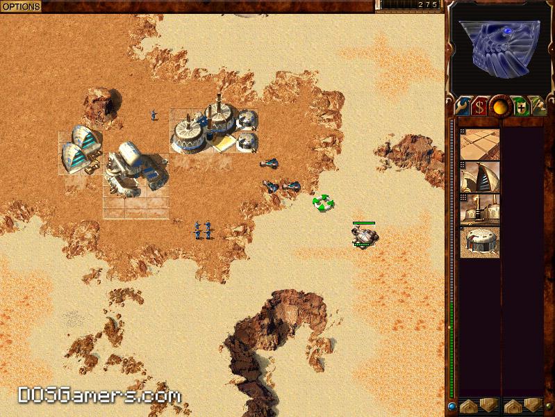 Dune 2000 on Windows with Gruntmods Edition.