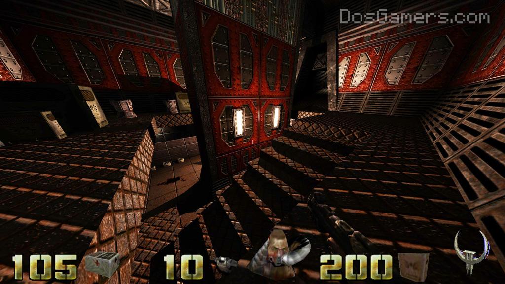 Quake 2 on Windows 10, 8 and Windows 7 high res