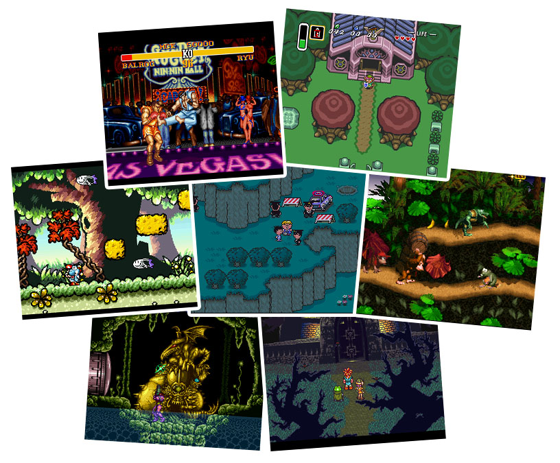 games for super nintendo emulator: