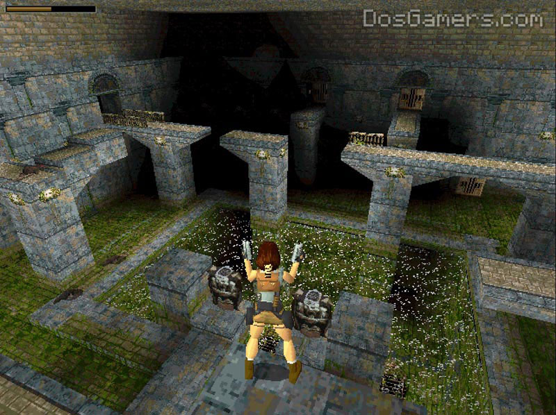 Tomb Raider 1 on Windows 10 with DOSBox