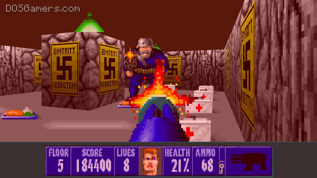 How to play Wolfenstein 3D on Windows 10: ECWolf