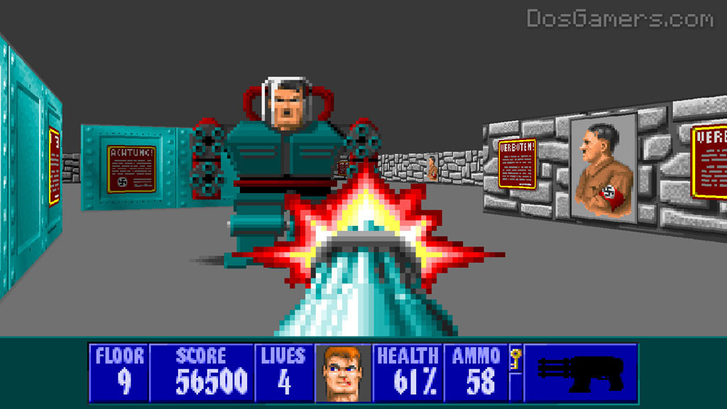 Wolfenstein 3d on windows 10 8 and windows 7 ecwolf for Wolfenstein 3d