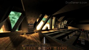Quake 1 Mission Pack 1 met DarkPlaces Quake engine.