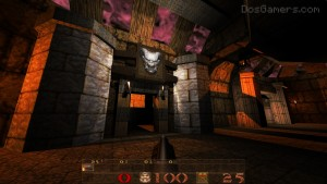 Quake 1 Mission Pack 2 met DarkPlaces Quake engine.