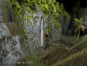 Tomb Raider 1 in high resolution on Windows 10, Windows 7 and 8 with nGlide.