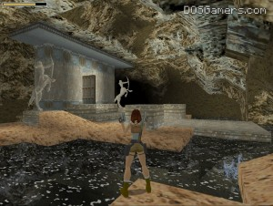 Tomb Raider 1 in high resolution on Windows 10, 7 and Windows 8 with 3Dfx patch.