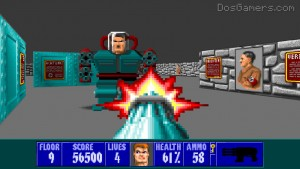 Wolfenstein 3D on Windows 10, Windows 8, Windows 7, Vista, XP in high resolution.